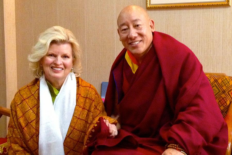 With the Oracle of Tibet, Kuten La, Dharmsala, India 2012