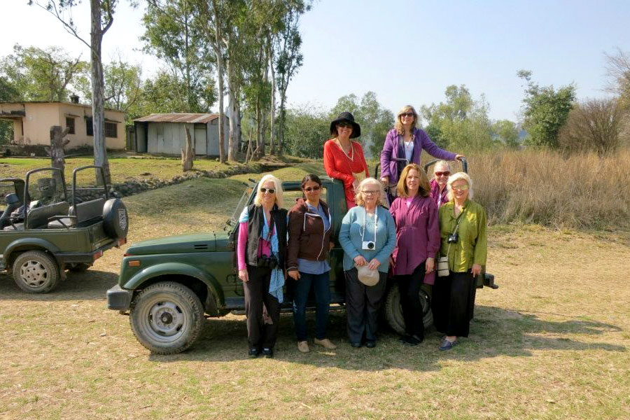 Our group went on safari to see all sorts of wildlife . 2013, outside Rishikesh, India.