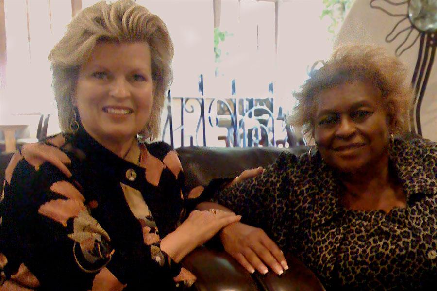 Sonnee with Dr. Aurelia Harris