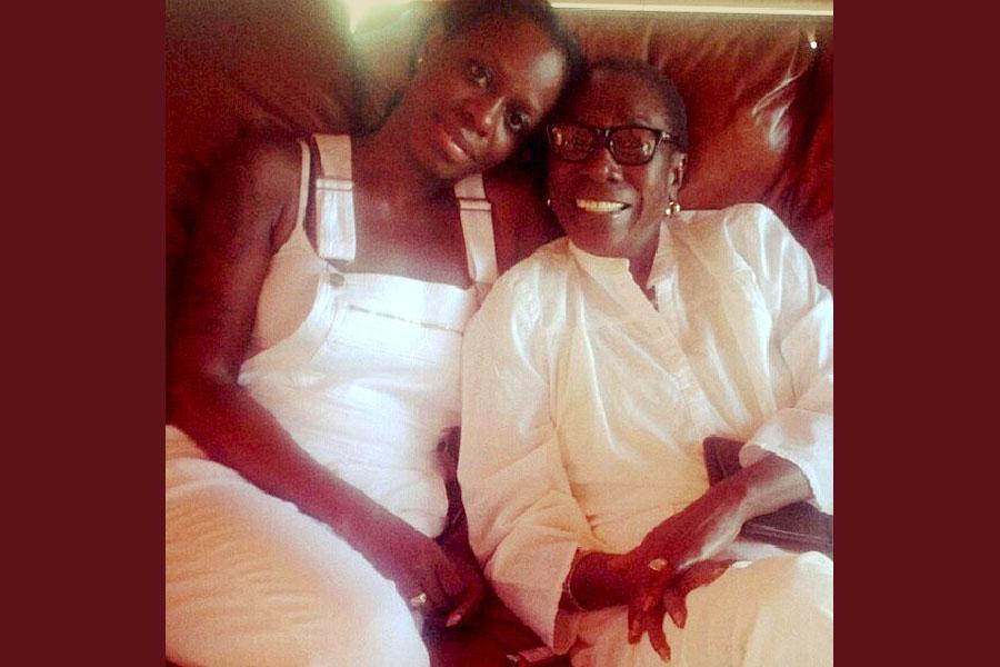 Sekyiwa and Afeni Shakur