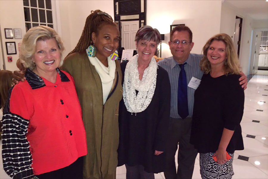 Book Signing at Avalon Malibu with Kimberle Crenshaw, JD, Beata Lundeen, Jeff Schwartz, LCSW and Colleen Kelly, MFT, 2014