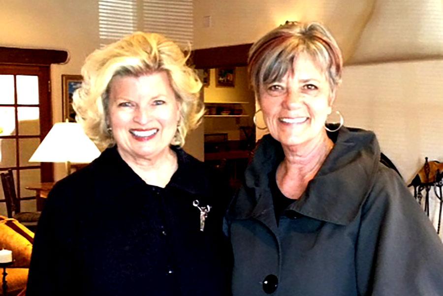 Sonnee and Beata Lundeen, Women's Leadership Training, Santa Fe, NM, 2014