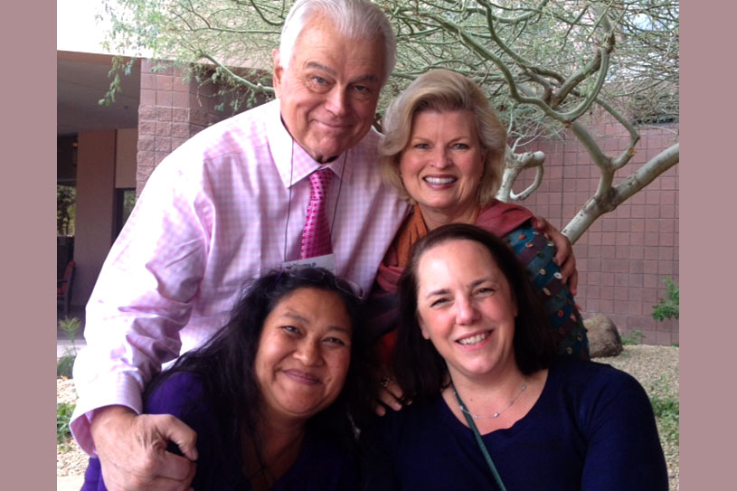 Ralph Earle, Ph.D., Sonnee, Ana Valenti, LPC and Cara Tripodi, LCSW, SASH convention, 2013