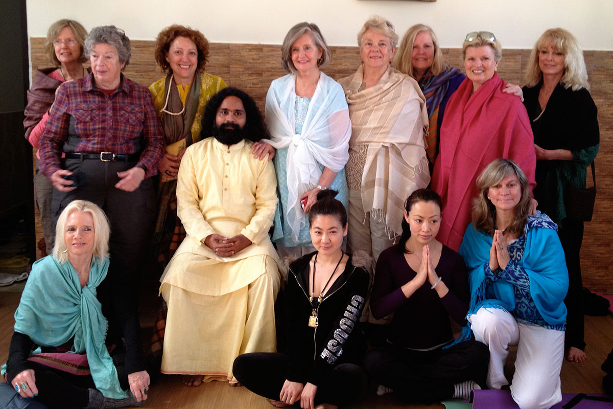 2014 Our group visits Name Ashram in City, India